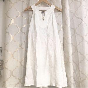 Tommy bahama xs white dress